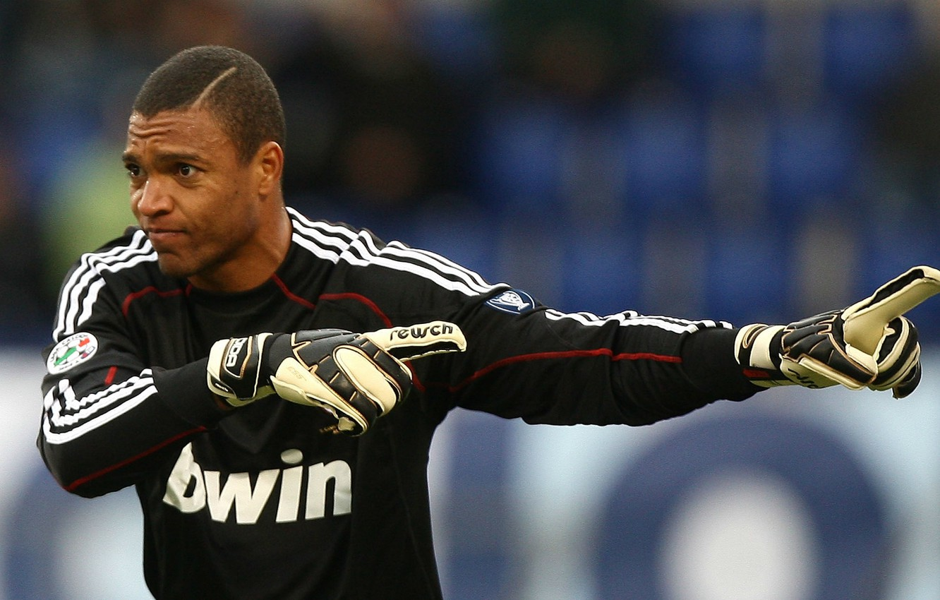 Wallpaper Goalkeeper Player Dida World Champion 2002