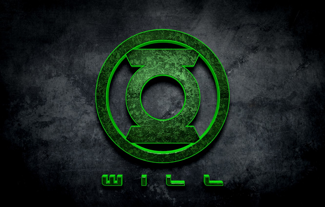 Photo wallpaper comics, will, Green lantern, willpower
