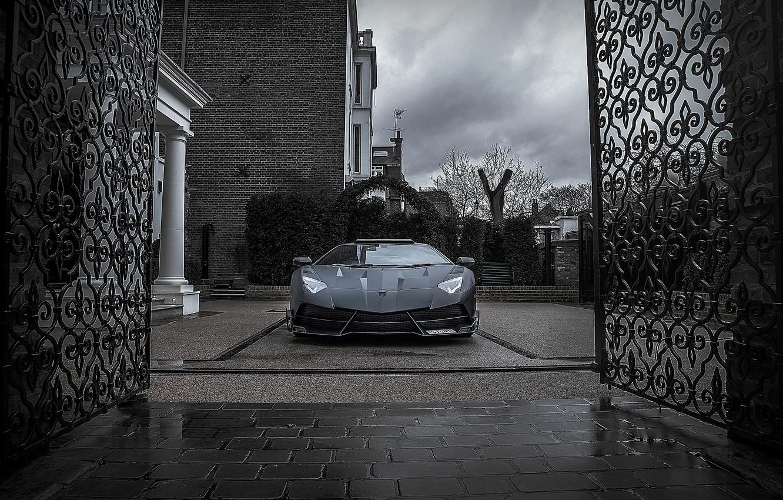 Photo wallpaper Lamborghini, Aventador, Lamborghini, aventador, Mansory