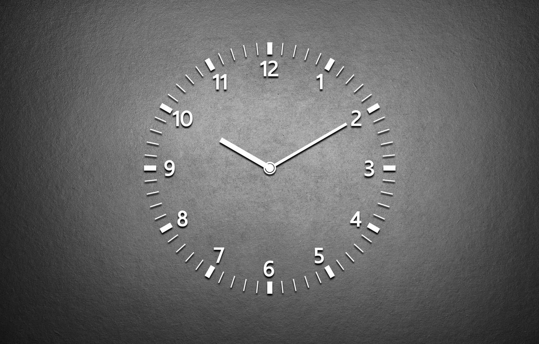 Photo wallpaper white, black, watch