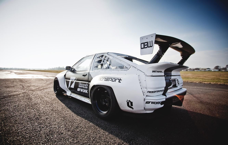 Photo wallpaper sport, tuning, spoiler, AE86, Toyota Levin
