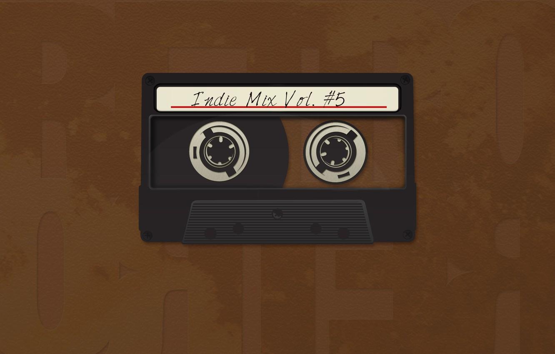 Photo wallpaper style, retro, creative, cassette, minimalism, film, cassettes