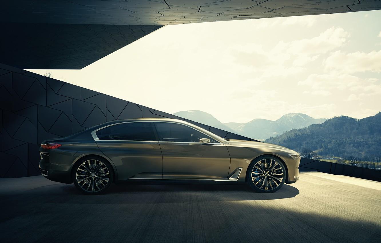 Photo wallpaper BMW, Vision, Future, 2014, Luxury Concept