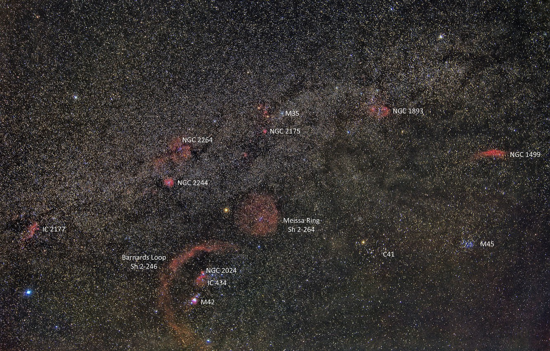 Photo wallpaper space, stars, the milky way, nebula