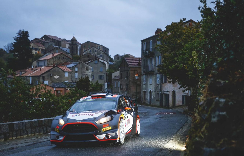 Photo wallpaper Ford, Home, WRC, France, Rally, Rally, Fiesta, Robert Kubica, Tour de Corse