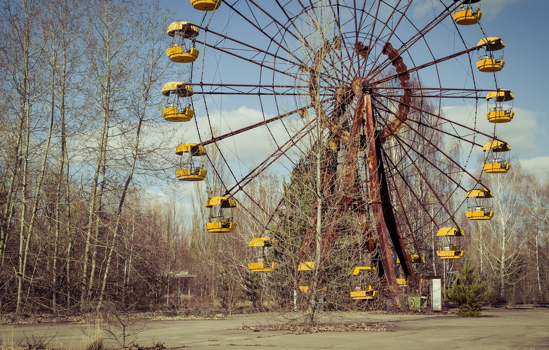 Photo wallpaper Chernobyl, Pripyat, lost places