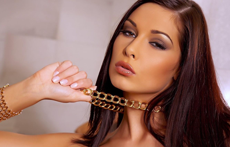 Photo wallpaper look, girl, model, Evelyn Lory
