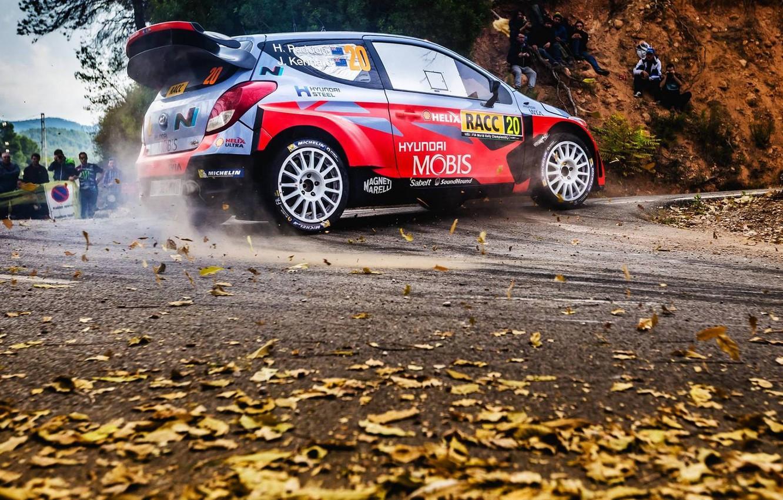 Photo wallpaper Hyundai, WRC, Rally, i20, Hairpin, Hayden Paddon