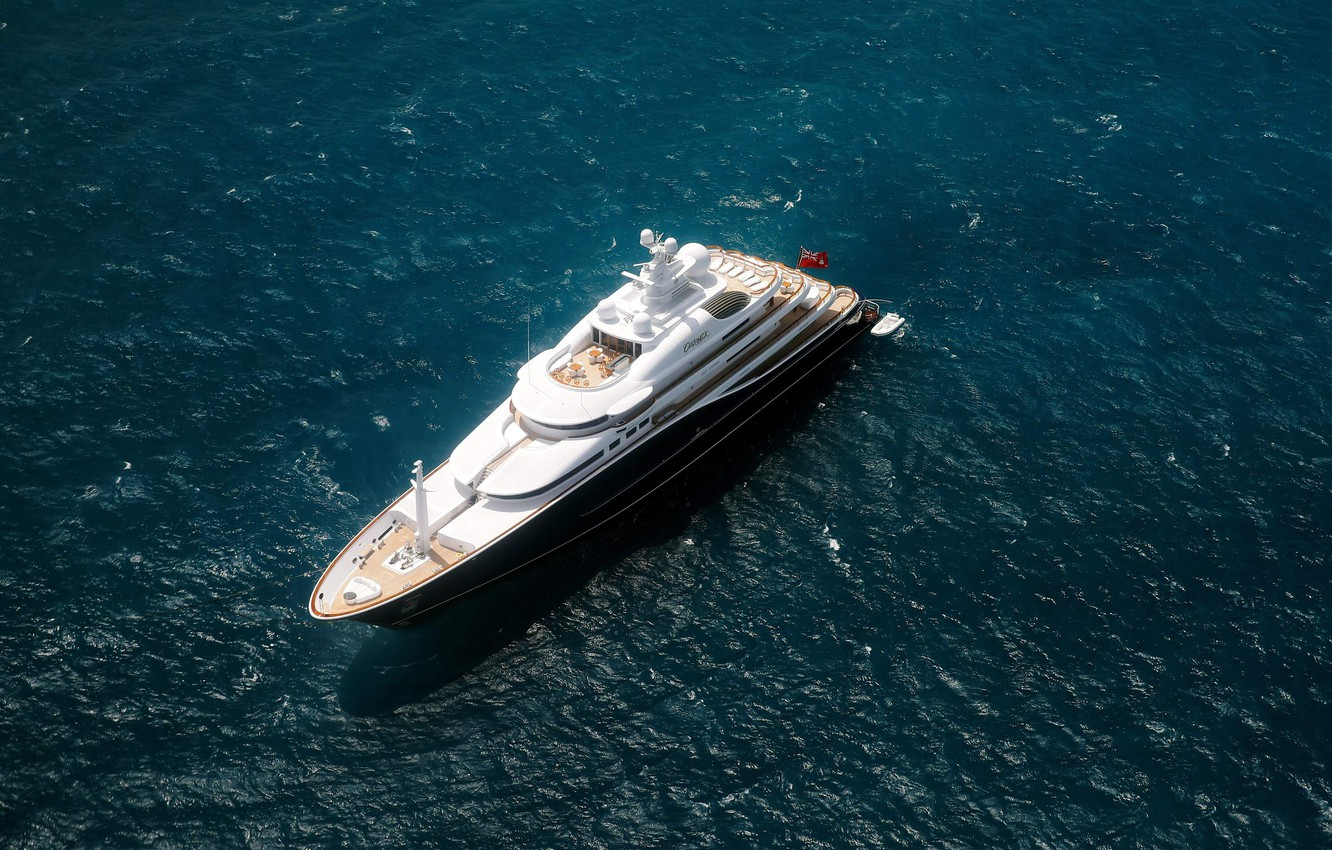 Photo wallpaper lifestyle, luxury yacht, mega yachts, Cannes, from the air