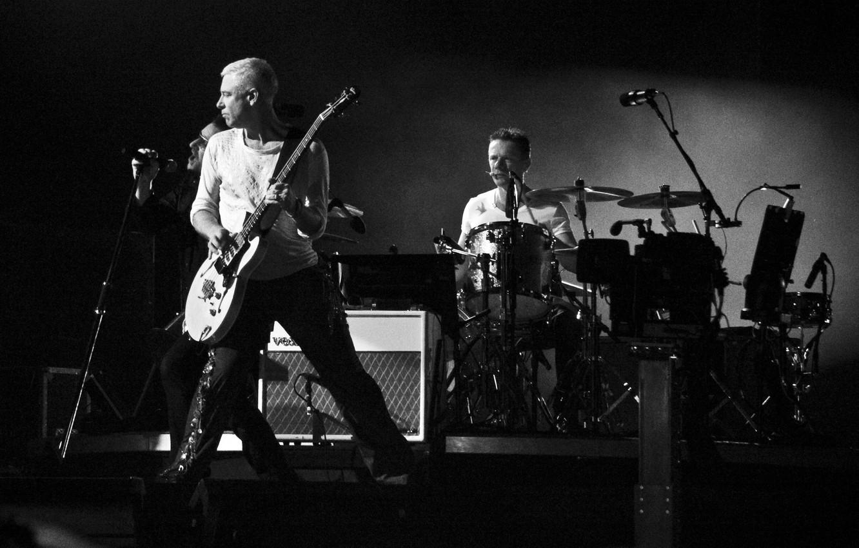 Photo wallpaper music, rock, live, October 2009