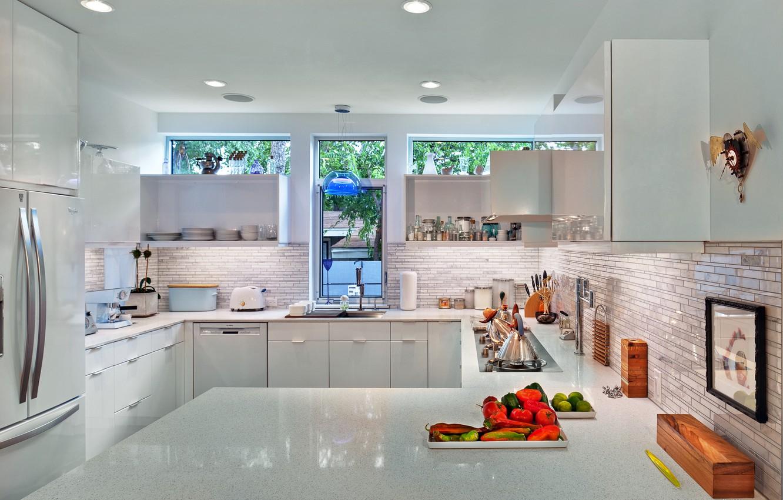 Photo wallpaper design, style, room, interior, kitchen