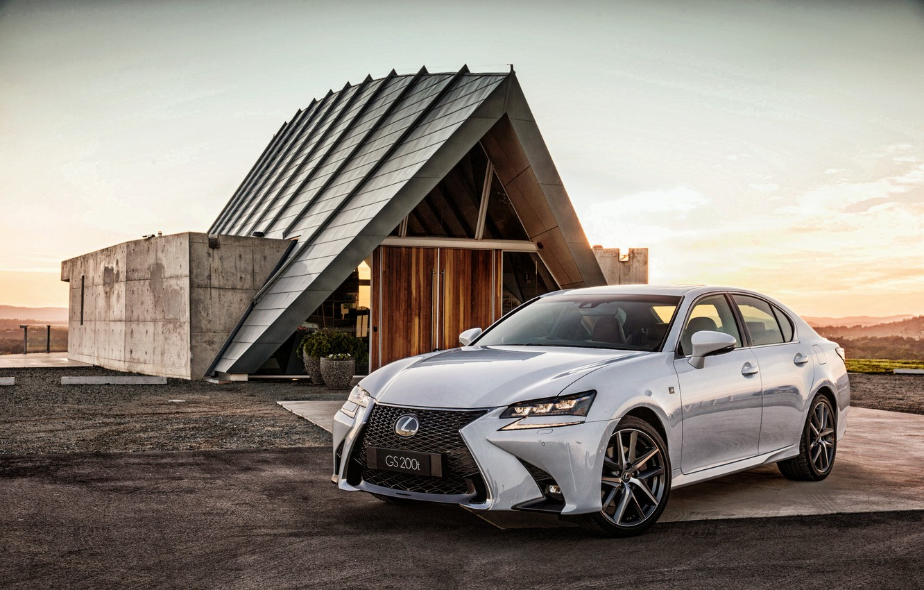 Photo wallpaper Lexus, sedan, Lexus