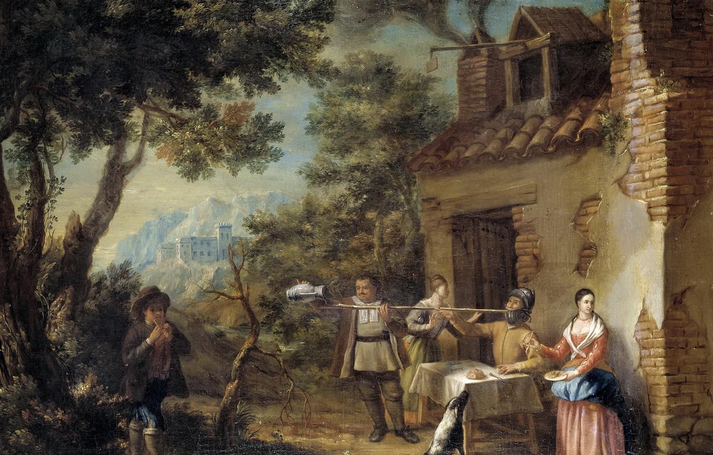 Photo wallpaper picture, the plot, genre, Valero Iriarte, Selling Don Quixote