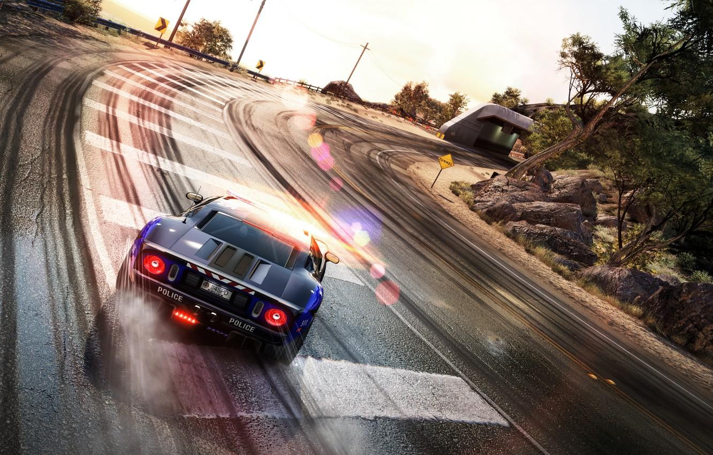 Обои hp, hot pursuit, Need for speed hot pursuit. Игры foto 16