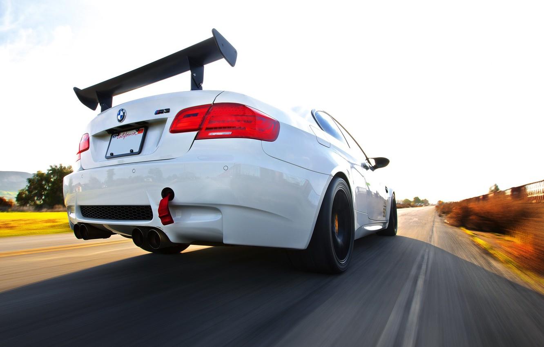 Photo wallpaper BMW, Speed
