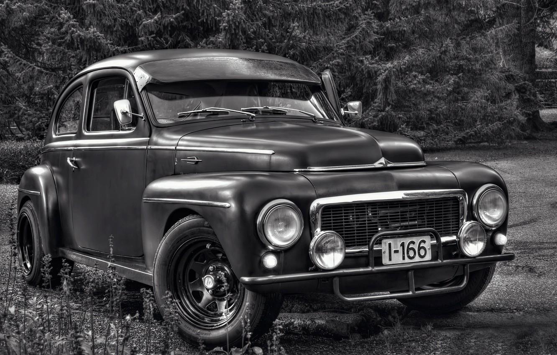 Photo wallpaper retro, Volvo, 1961
