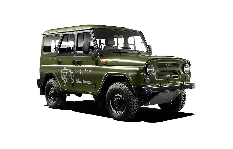 Photo wallpaper jeep, SUV, Hunter, off road, 4x4, army, Soviet, UAZ, UAZ, 2015, UAZ, hunter
