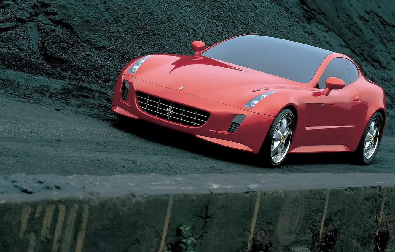 Photo wallpaper 2005, by Giorgetto Giugiaro, Beautiful red, Tokyo Motor Show, Ferrari GG50