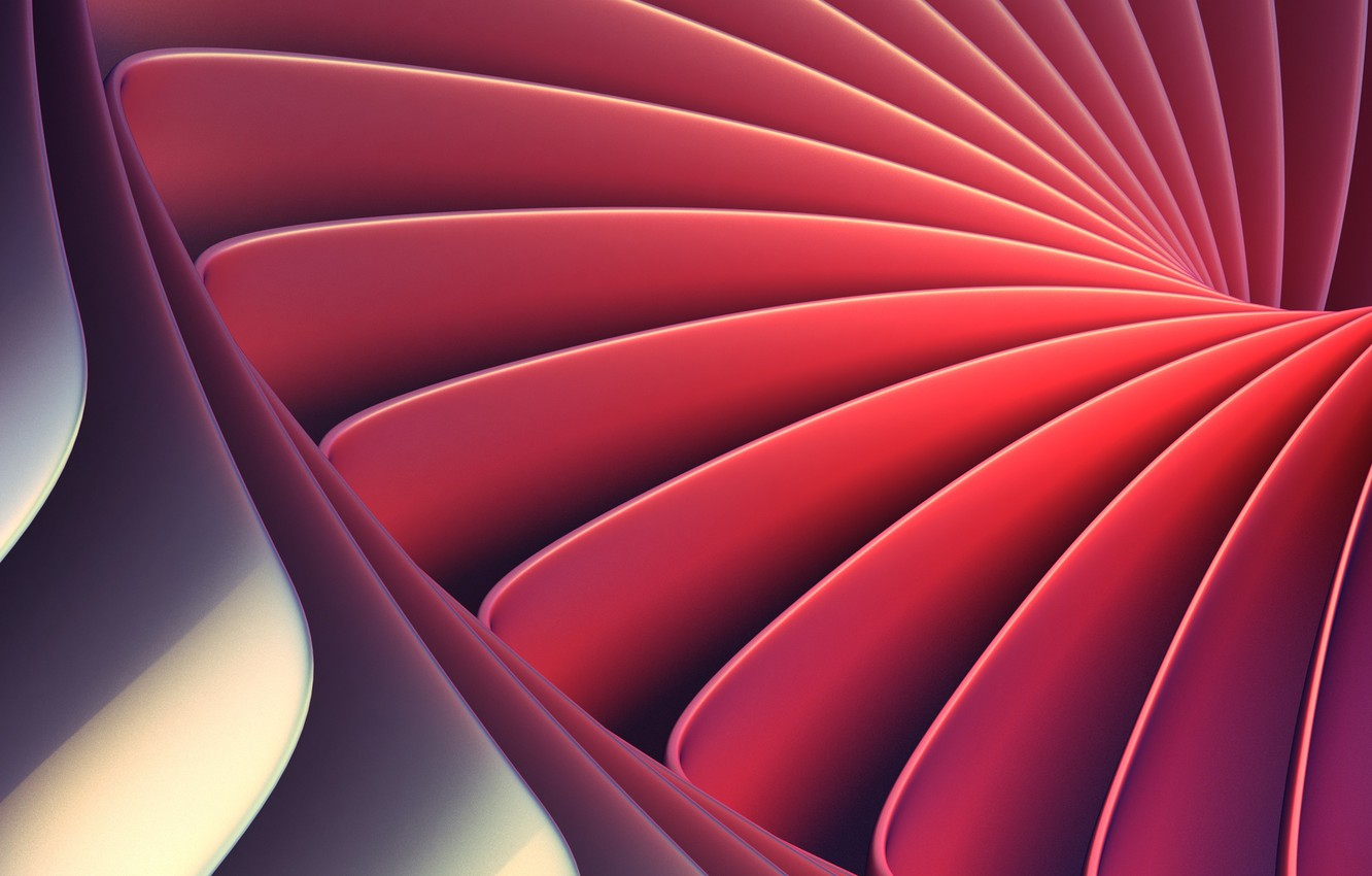 Photo wallpaper line, abstraction, pattern, render
