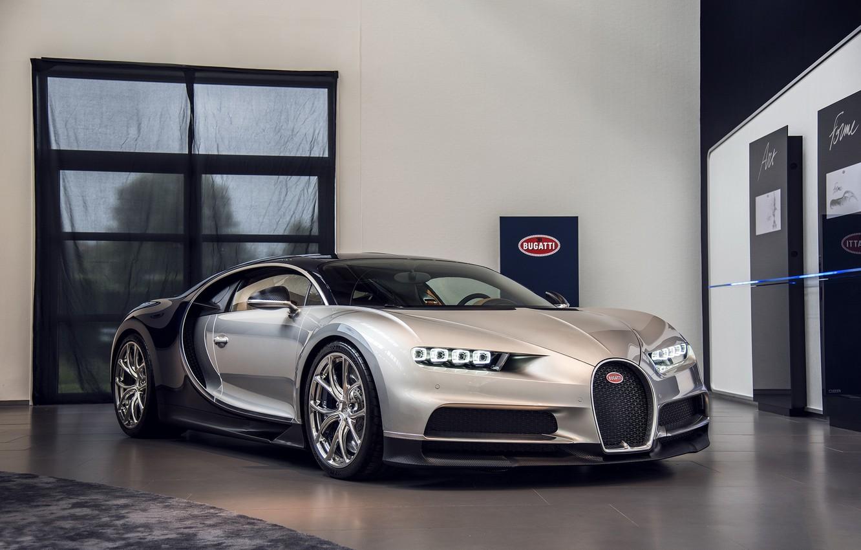 Photo wallpaper Bugatti, Room, 2016, Chiron