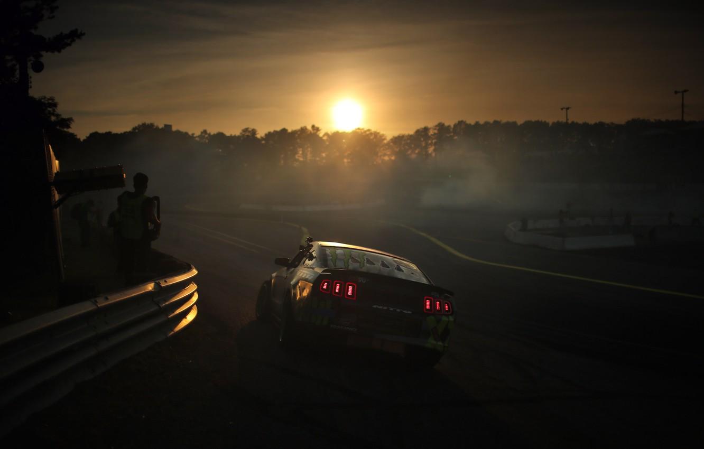 Photo wallpaper mustang, Mustang, drift, drift, ford, Ford, formula, 2013
