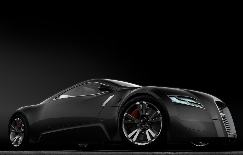 Photo wallpaper Concept, Audi, black