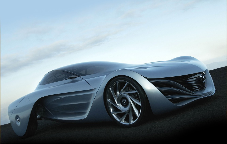 Photo wallpaper Grey, Mazda, The concept