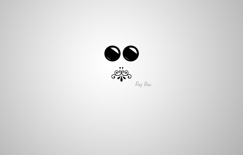 Photo wallpaper eyes, face, glare, pattern, minimalism, mouth, mini, silhouette, minimal, glasses, Blik, ornament, mini, widescreen Wallpaper, …