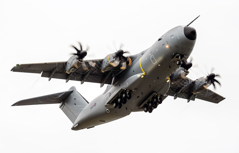 Photo wallpaper the sky, aircraft, SHELF A400M Atlas