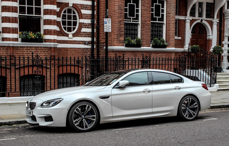 Photo wallpaper BMW, Street, BMW, Gran Coupe, Street