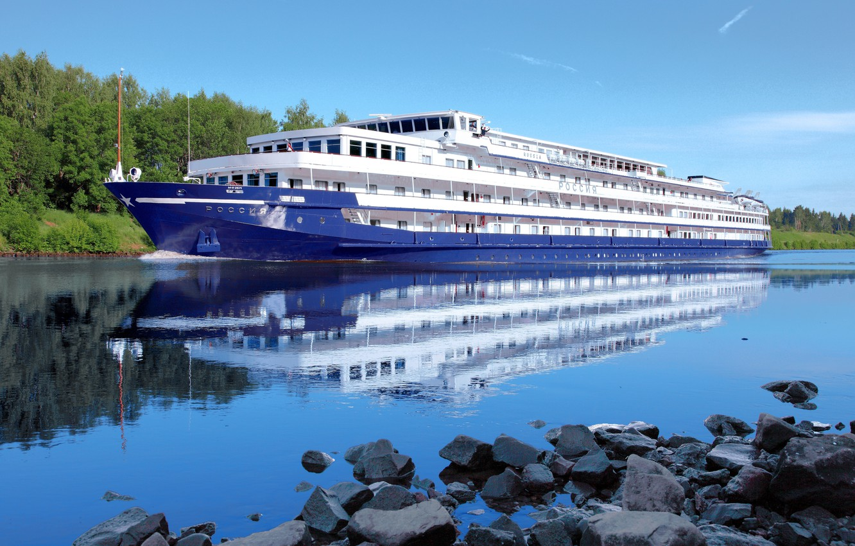 Photo wallpaper nature, stay, Russia, tourism, Volga, ship