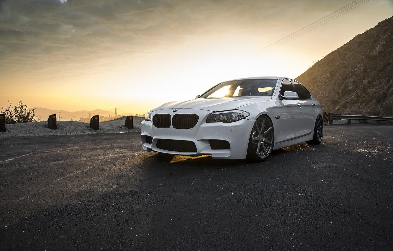 Photo wallpaper BMW, F10, WHEELS, VERTINI