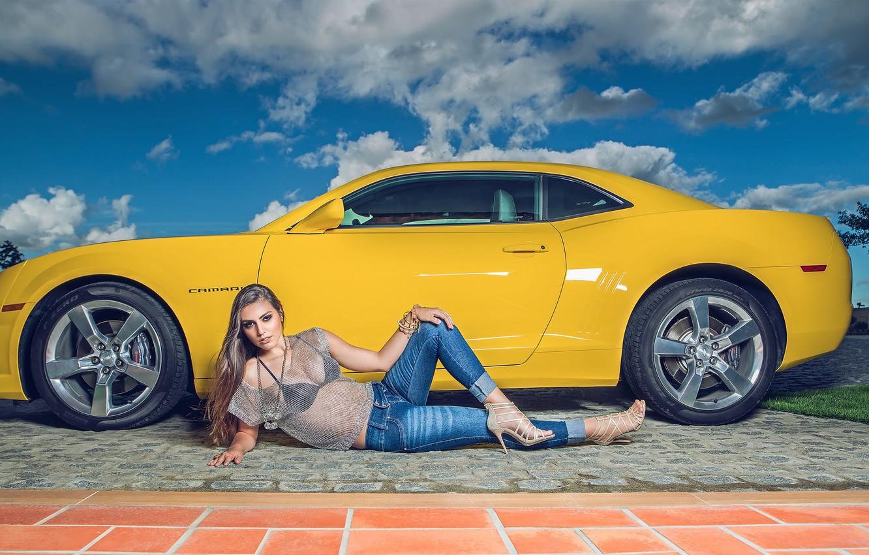 Photo wallpaper Chevrolet, Camaro, Chevrolet Camaro, Helena De Castro Rios
