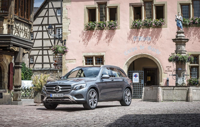 Photo wallpaper Mercedes-Benz, Mercedes, 4MATIC, 2015, Off-Road, GLC, X205