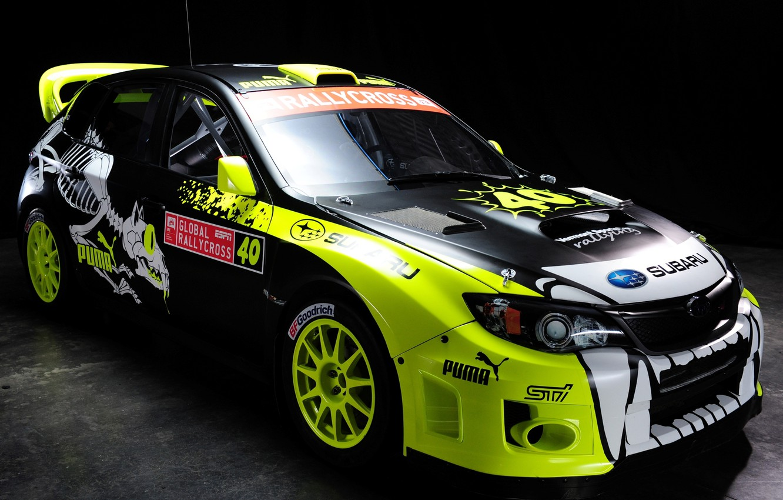 Photo wallpaper Subaru, Impreza, WRX, car, rally, STi, racing