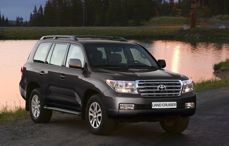 Photo wallpaper jeep, Toyota, the front, 200, Toyota, Land Cruiser, Land Cruiser
