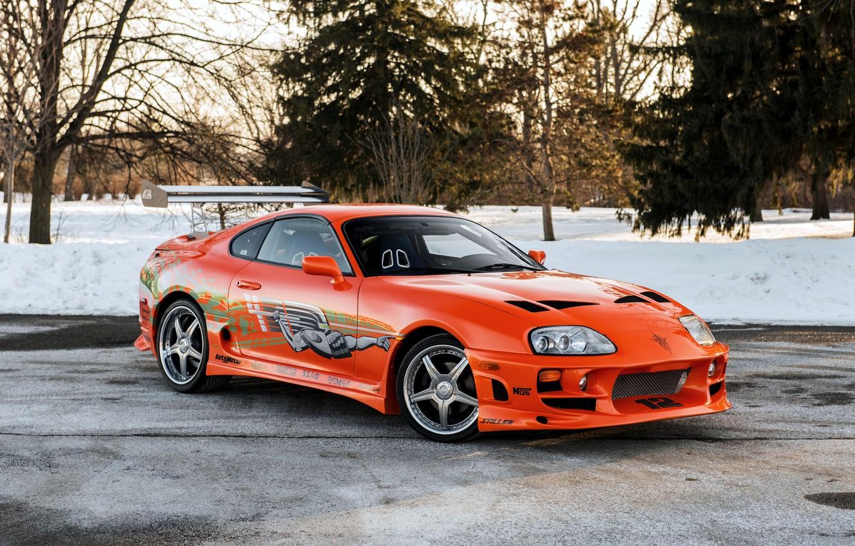 Photo wallpaper Toyota, Supra, Toyota, supra, the fast and the furious, The Fast and the Furious, 2001