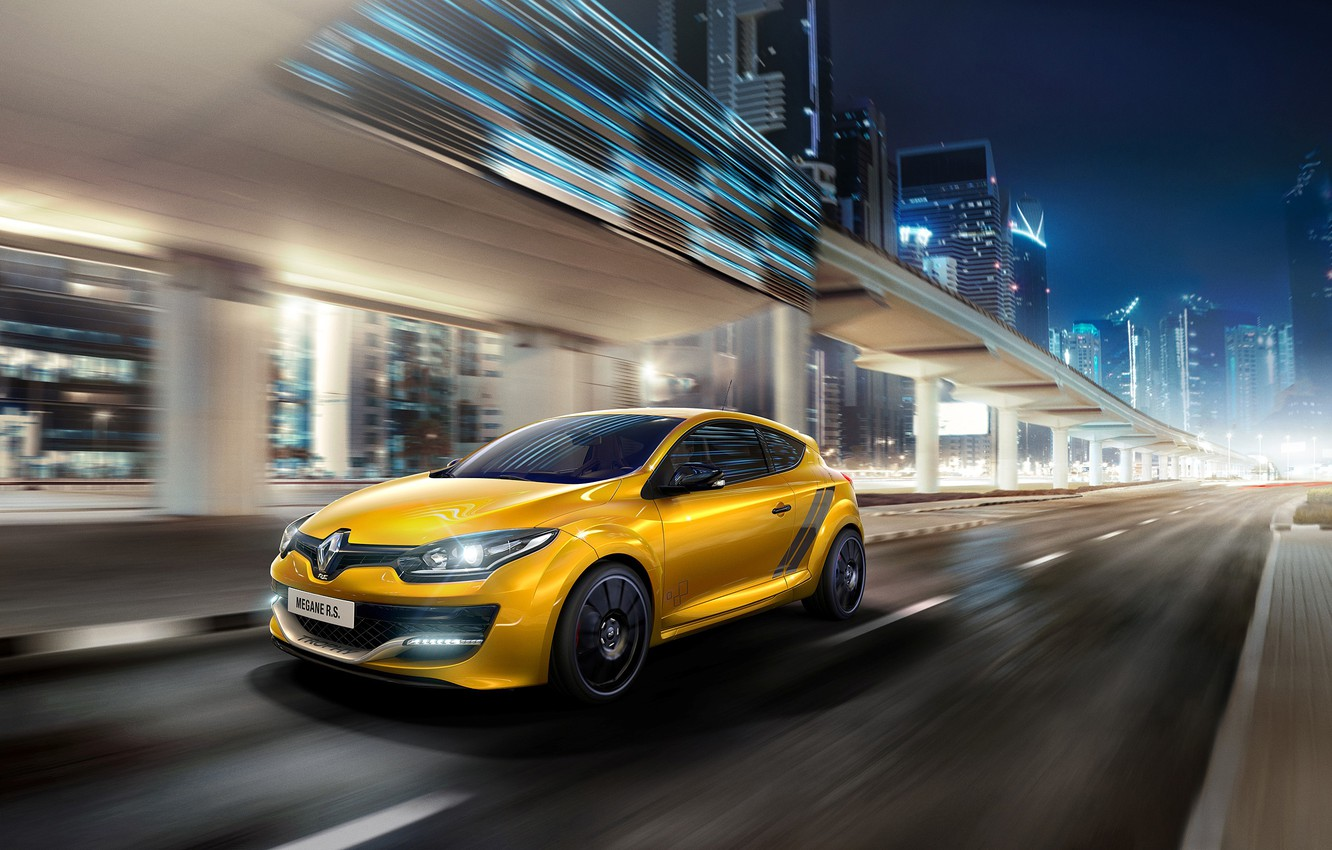 Photo wallpaper Renault, Megane, 275 Trophy