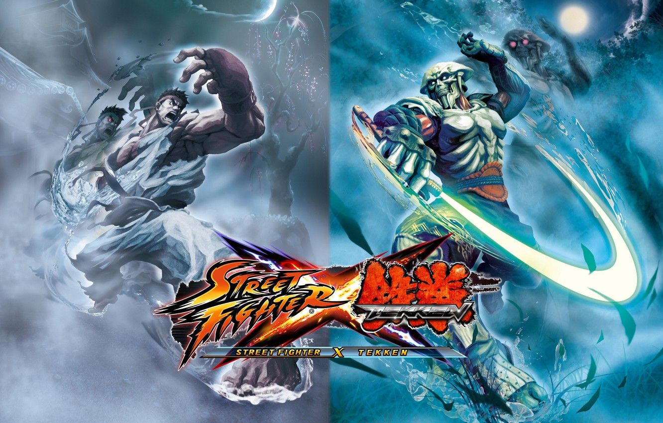 Wallpaper The Fight Street Fighter Street Fighter X Tekken Yoshimitsu Ryu Images For Desktop Section Igry Download