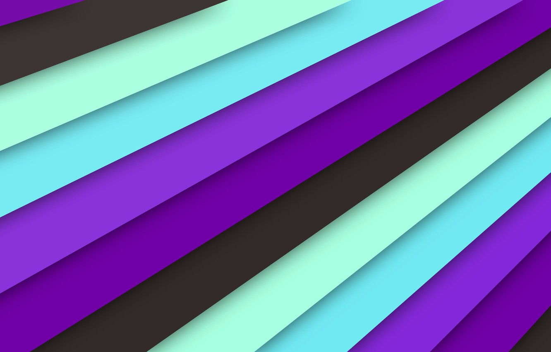 Photo wallpaper line, lilac, blue, black, texture, material