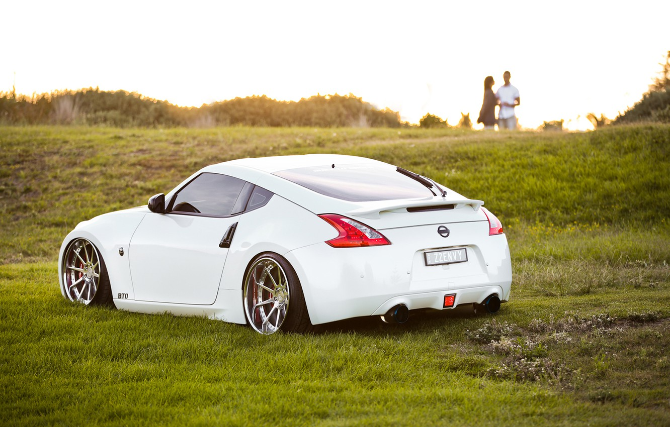 Photo wallpaper tuning, Nissan, stance, nissan 370z