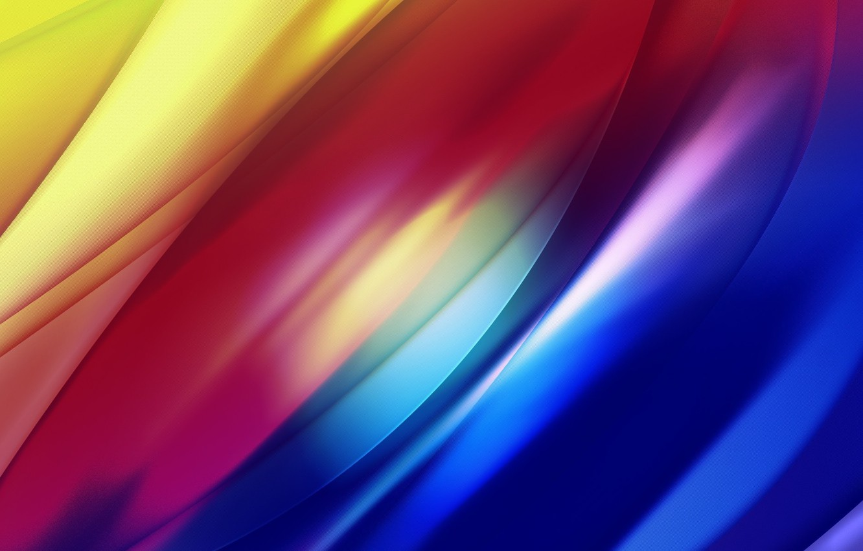 Photo wallpaper Wave, Strip, Line, Light, Rainbow, Curves, Glow, Gradient, Play
