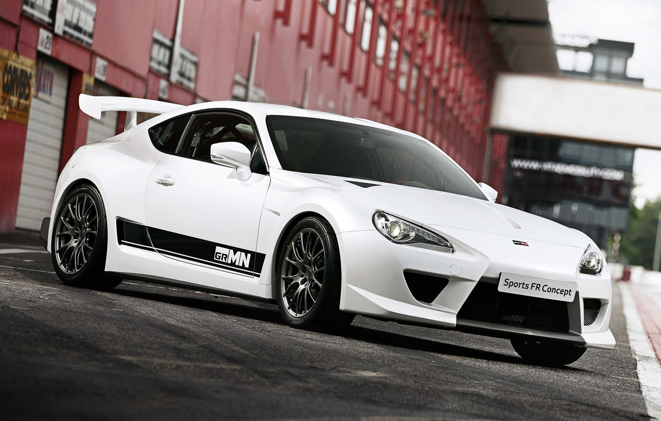 Photo wallpaper concept, toyota, sports, gt86