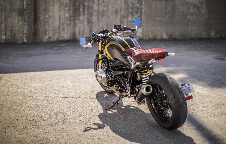 Photo wallpaper BMW, moto, motorcycle, custom, motorrad, nineT