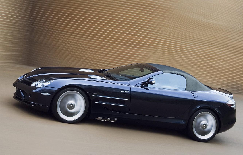 Photo wallpaper SLR, Roadster, cabrio, Mersedes-Benz