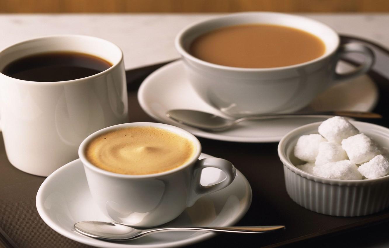 Photo wallpaper table, background, tea, coffee, food, chocolate, liquid, plate, spoon, mug, Cup, sugar, drink, cappuccino, drink, …