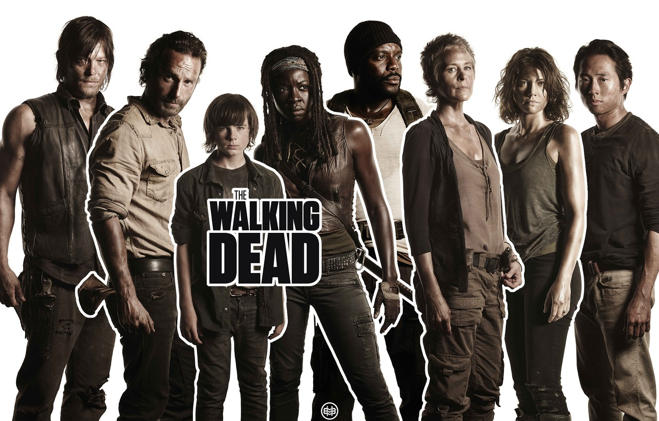 Wallpaper Maggie Maggie The Series Carl The Walking Dead The