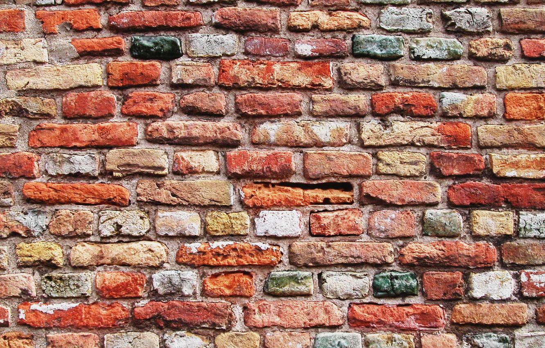 Photo wallpaper wall, brick, texture, wall