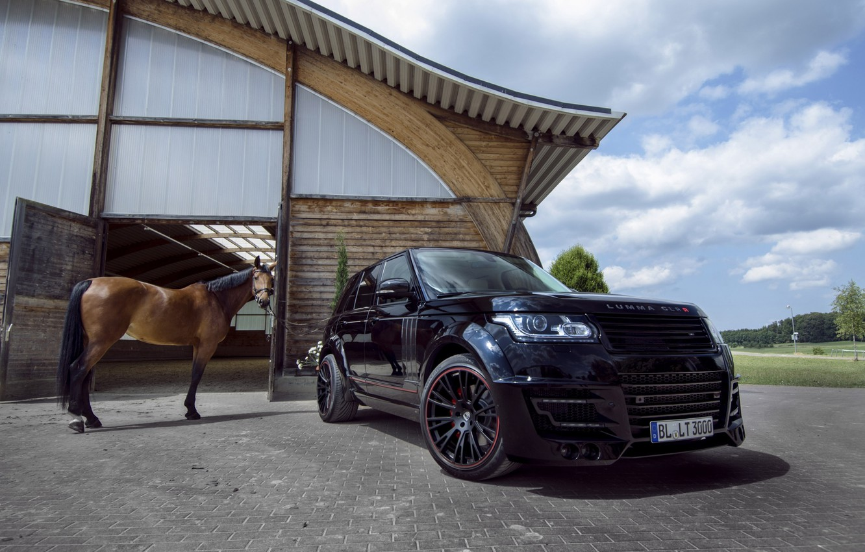 Photo wallpaper Land Rover, Range Rover, Tuning, 2014, Lumma Design