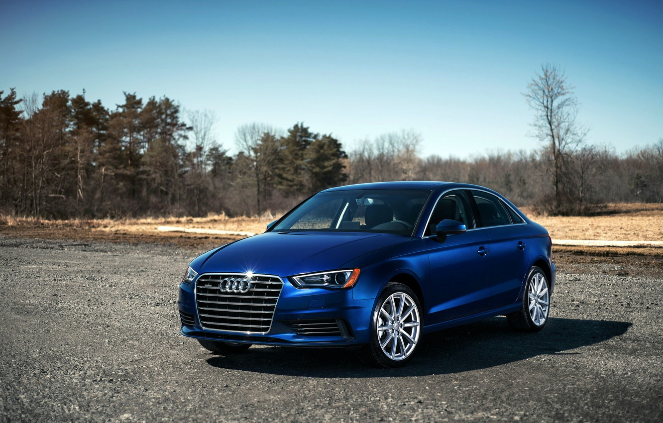 Photo wallpaper blue, Audi, Audi, blue, 2015, 2.0T